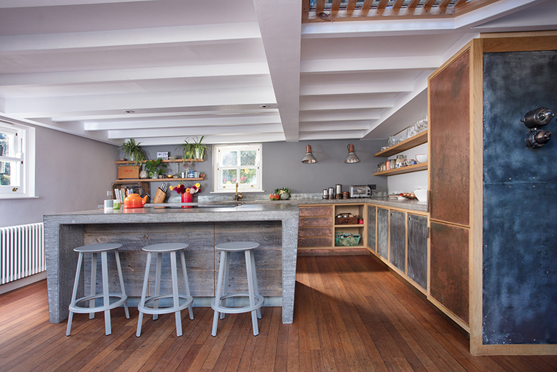 At home with Chris and Sophie Arnolds Kitchens