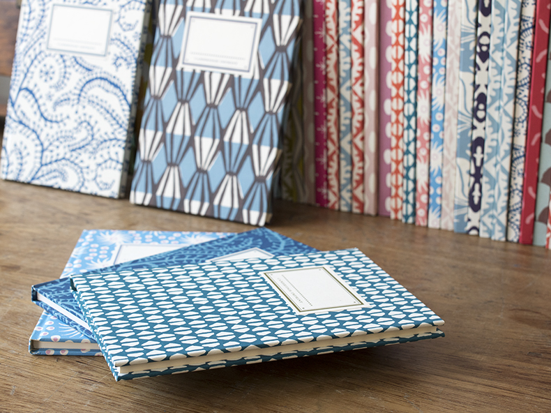 Cambridge Imprint patterned books