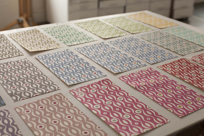 Cambridge Imprint patterns designs