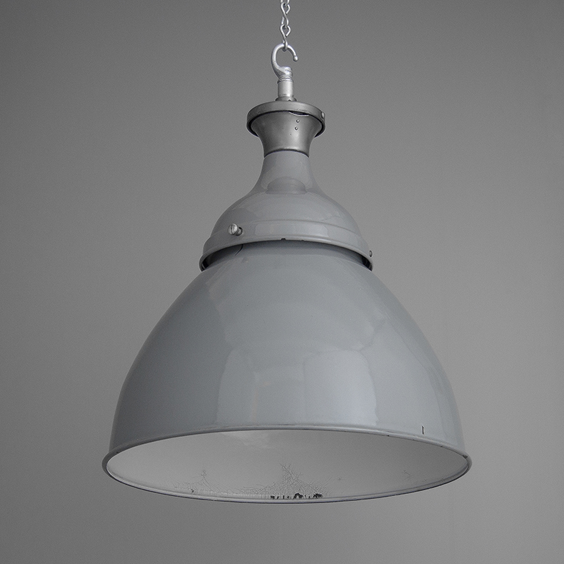 Grey Original Dunlop Enamel Shade