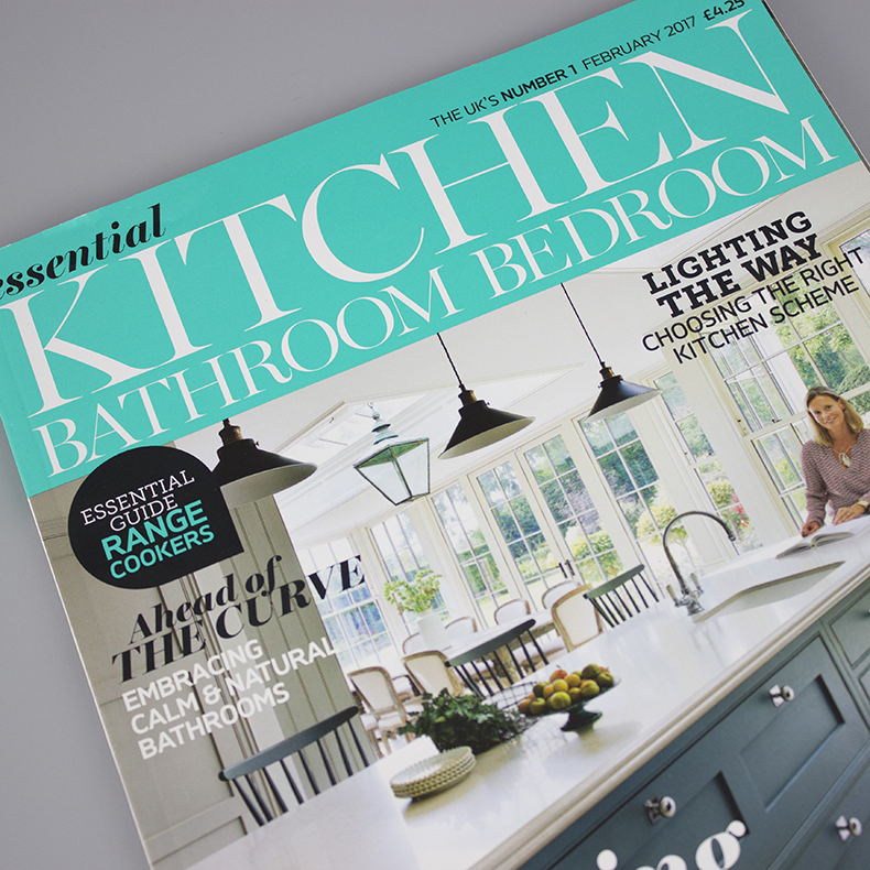 Essential Kitchens, Bathrooms & Bedrooms Feb 17 Cover