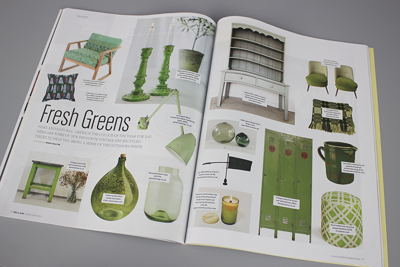 Reclaim Issue 11 Fresh greens