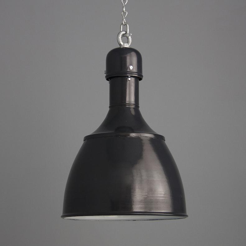 Eastern Bloc industrial pendant lights