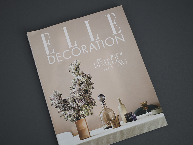 Elle Decoration May 18 cover