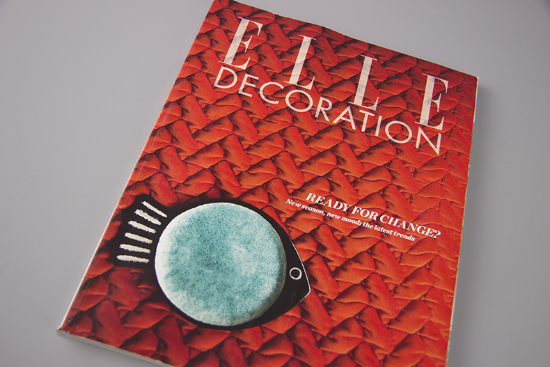 Elle Decoration March 2015 cover