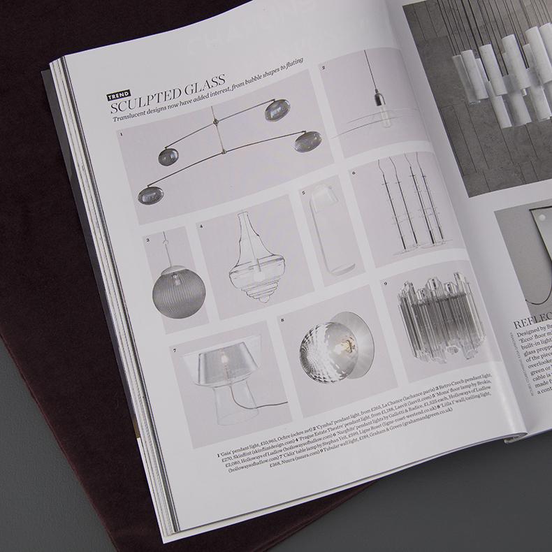 Elle Decoration - Translucent lighting