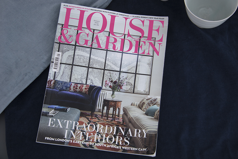 House & Garden Jan 2019 cover