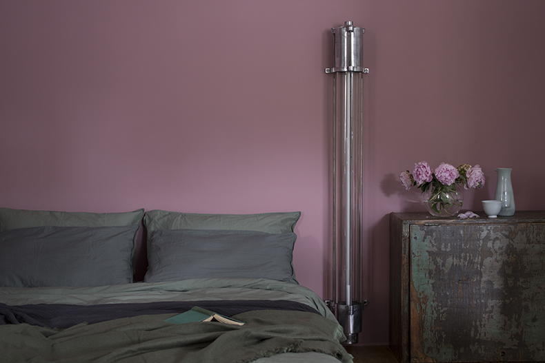Eastern Bloc linear light in bedroom