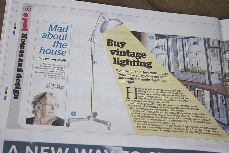 Mad about the house how to by vintage lighting