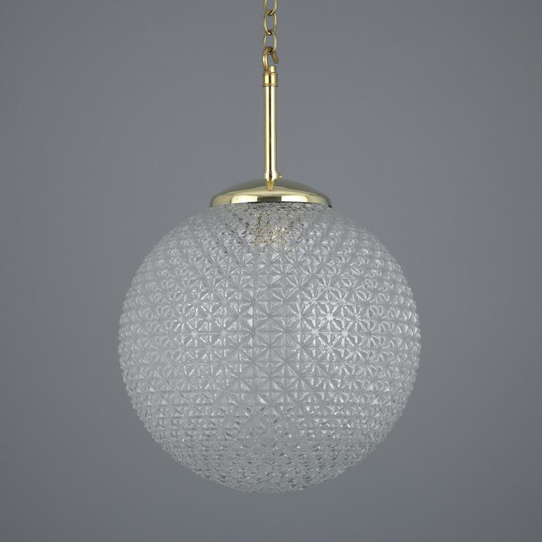 2989 retro czech pendants v2 glass and brass lights