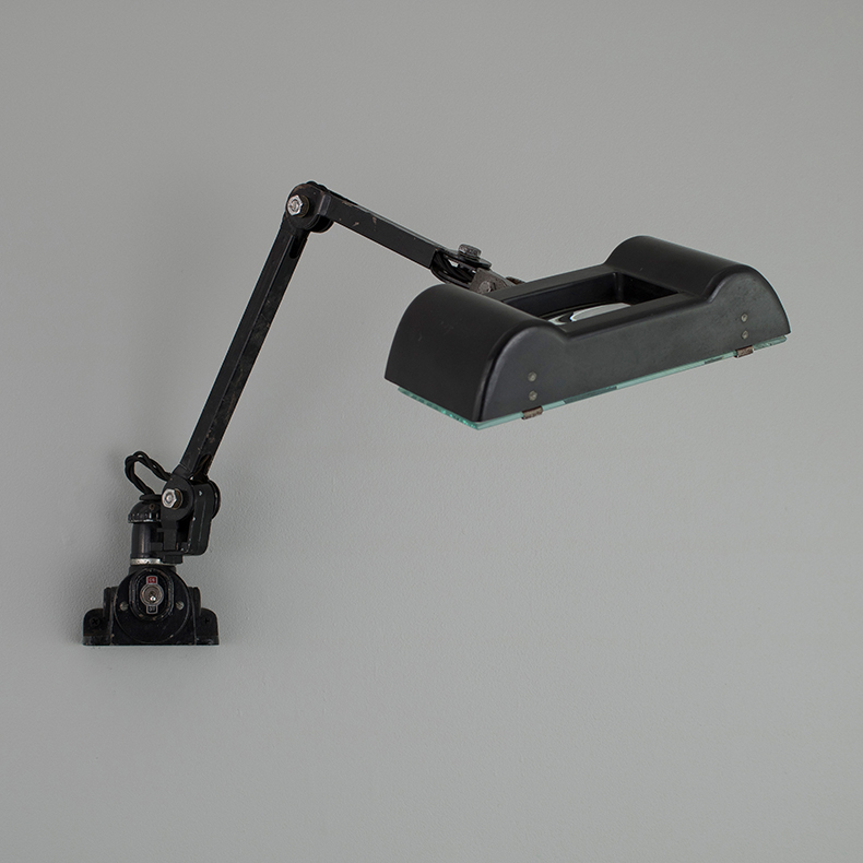 1940 magnifying work light by EDL