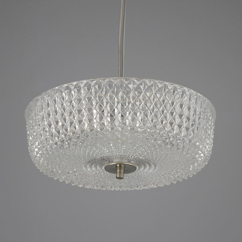1960s decorative glass pendant lights