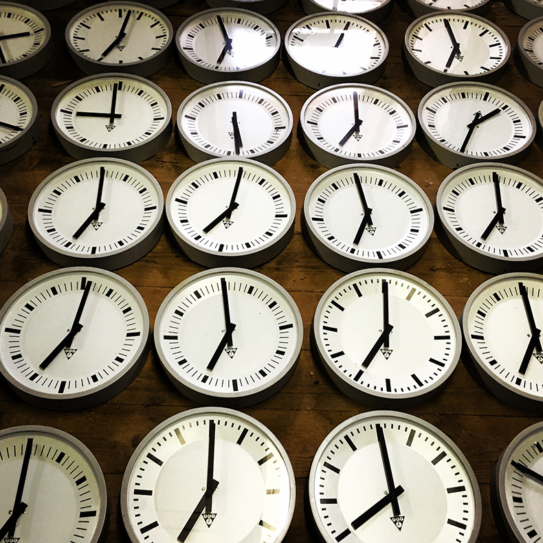 Czech factory clocks