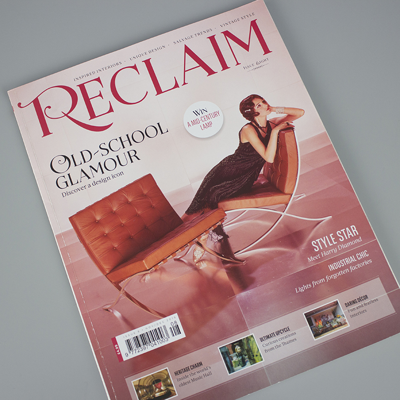 Reclaim magazine issue eight cover