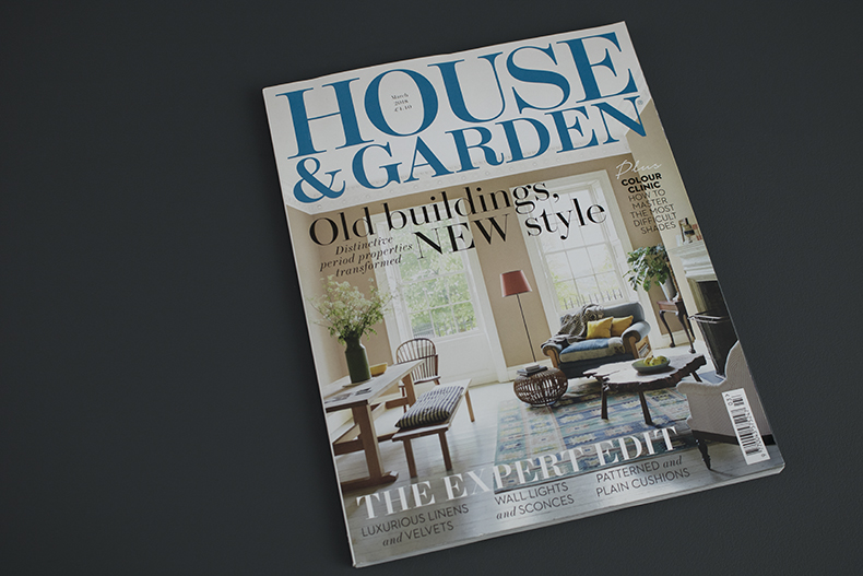 House & Garden March 18 cover
