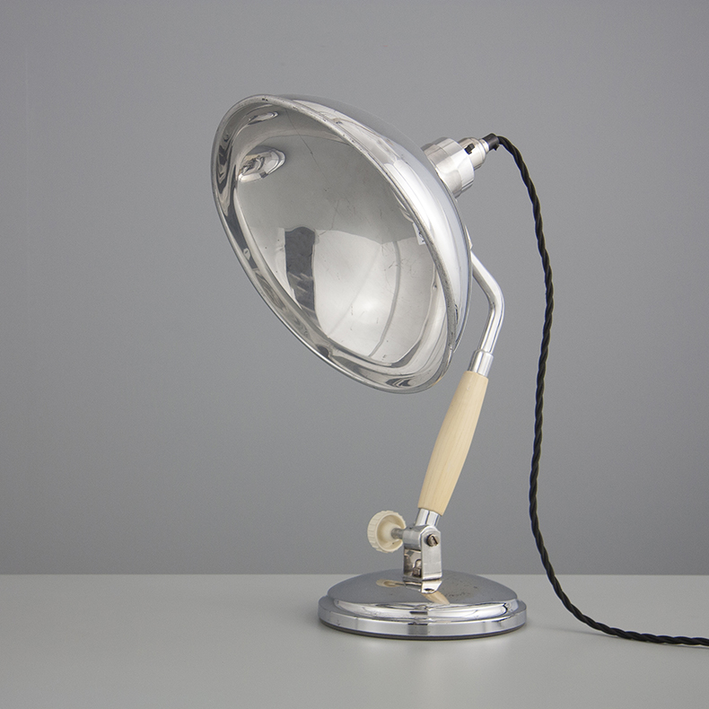 Vintage French table lamp