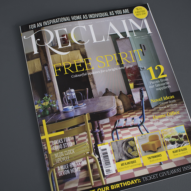 Reclaim magazine Issue twenty two cover