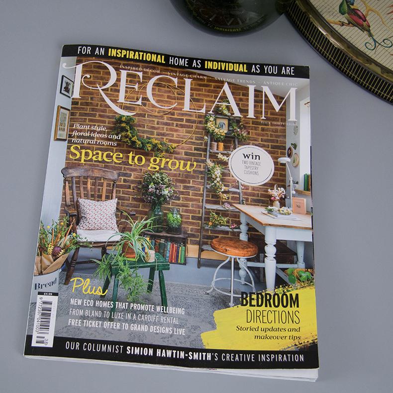 Reclaim magazine issue 38 - skinflint railway light lenses