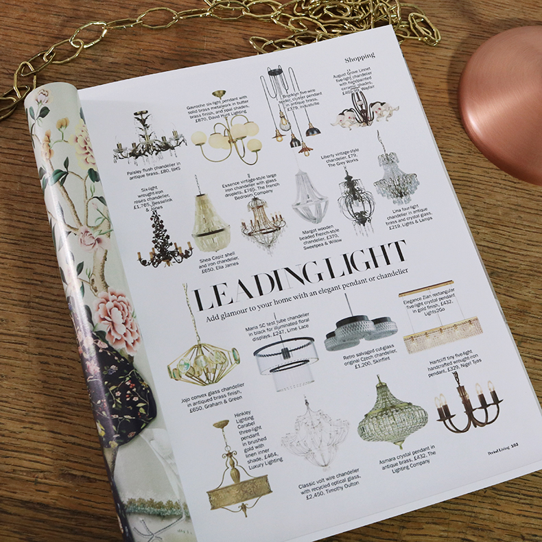 skinflint period living magazine leading light