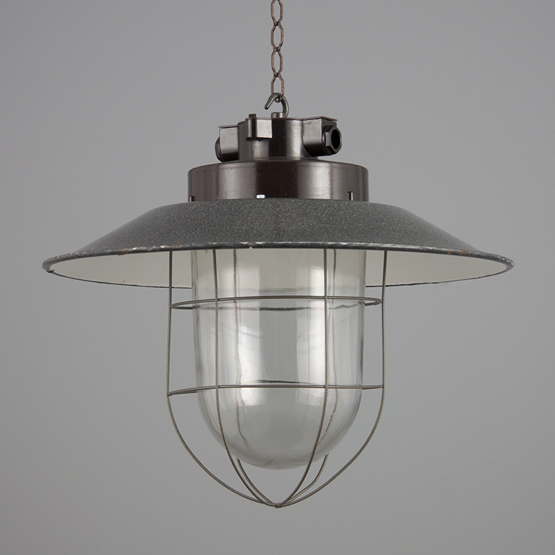 Eastern Bloc caged pendant light