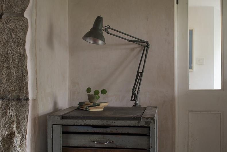 Swedish Military desk light