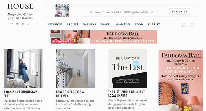 House Design blog