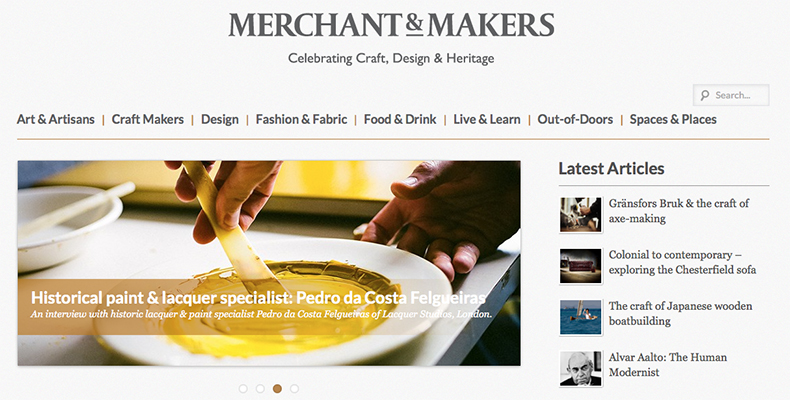 Merchant & Makers blog