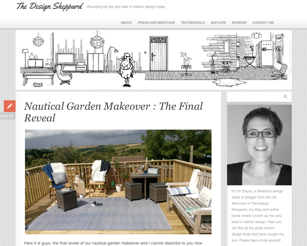 The Design Sheppard blog