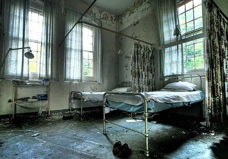Victorian lunatic asylum in the Midlands