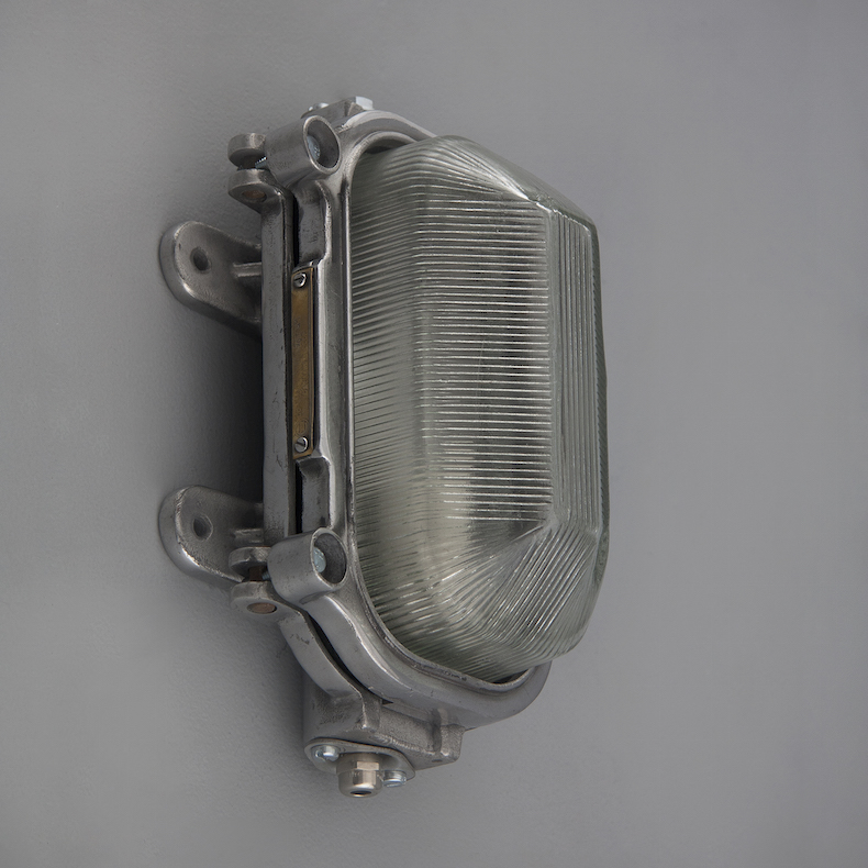 Industrial Russian naval bulkhead lights