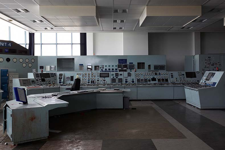 Central Control Room at Eggborough Power Station