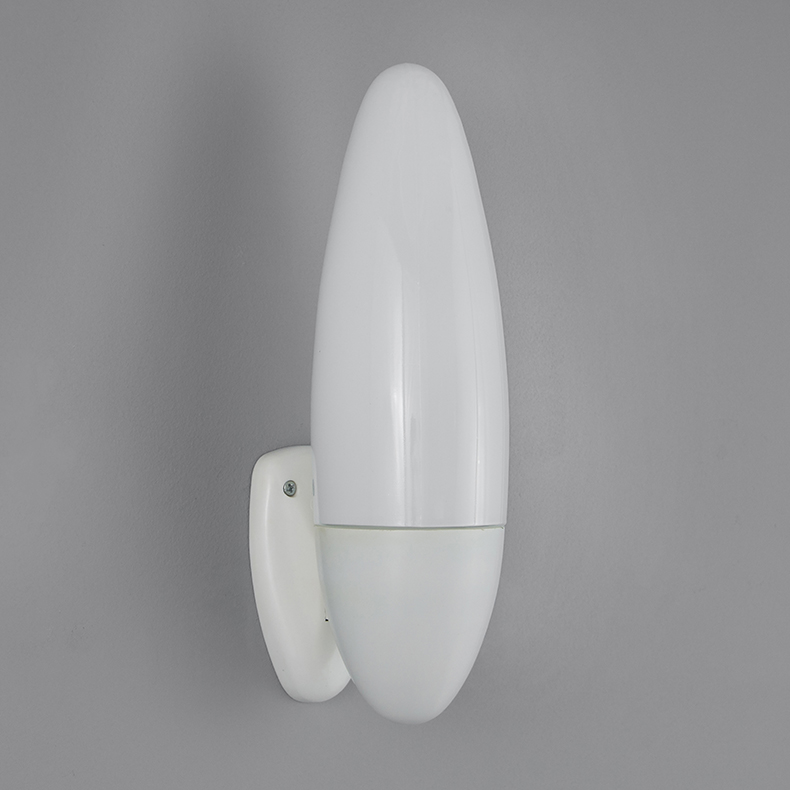 Opaline amorphous wall lights
