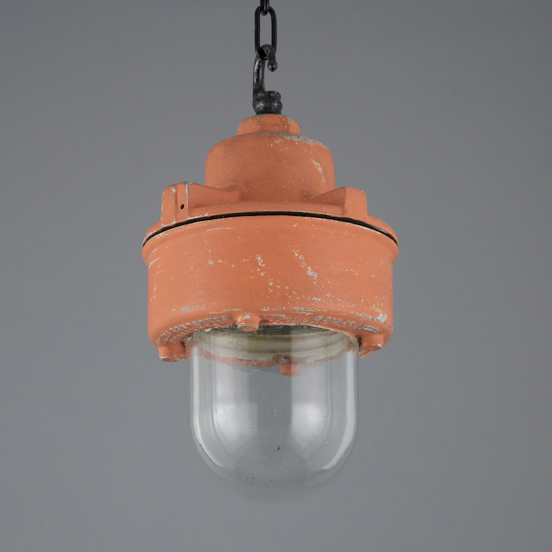 Small industrial pendant lights by Walsall