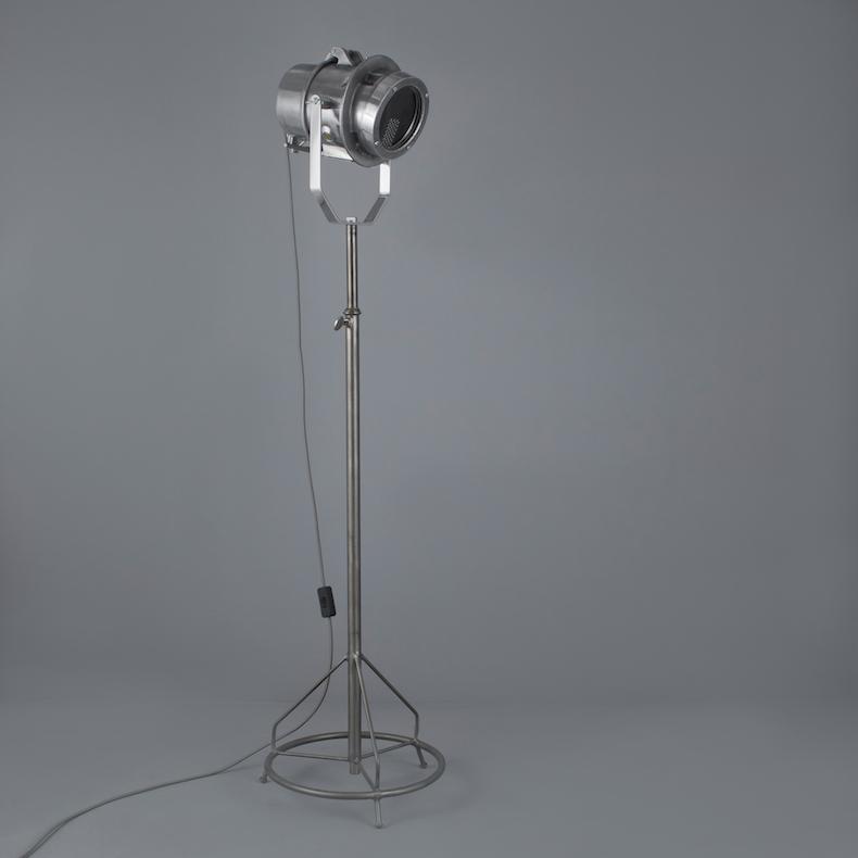 German railway signal light standing lamp