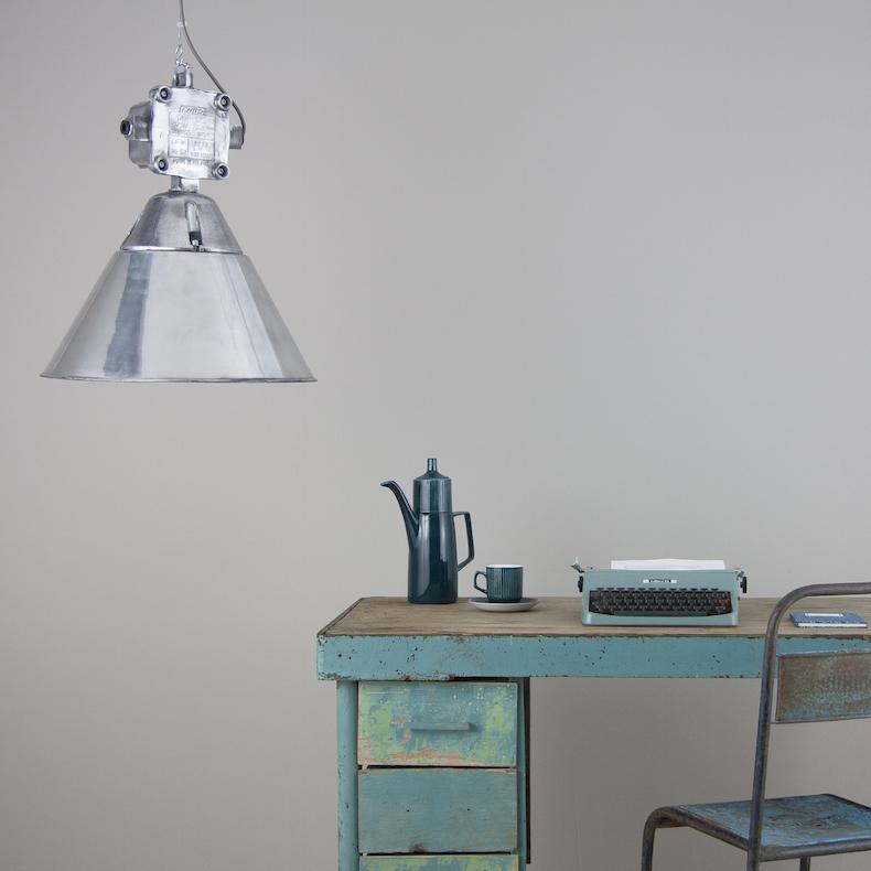 Polish industrial pendant lights