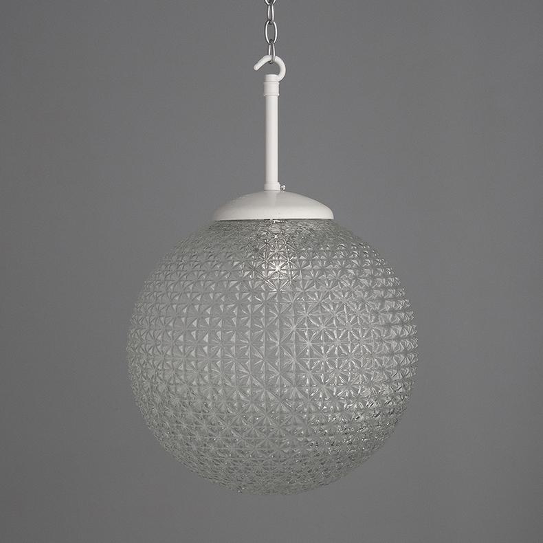 retro glass pendant lights