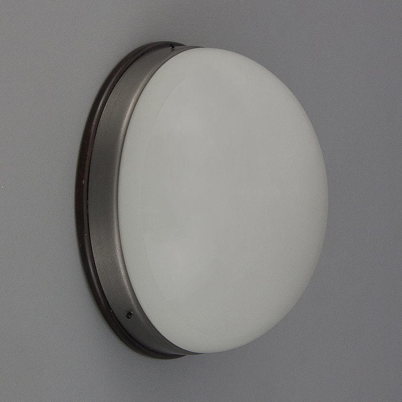 Opaline mounted lights