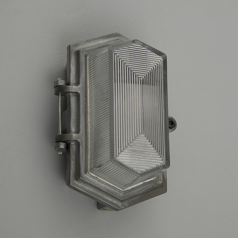 Prismatic wall lights by Wardle
