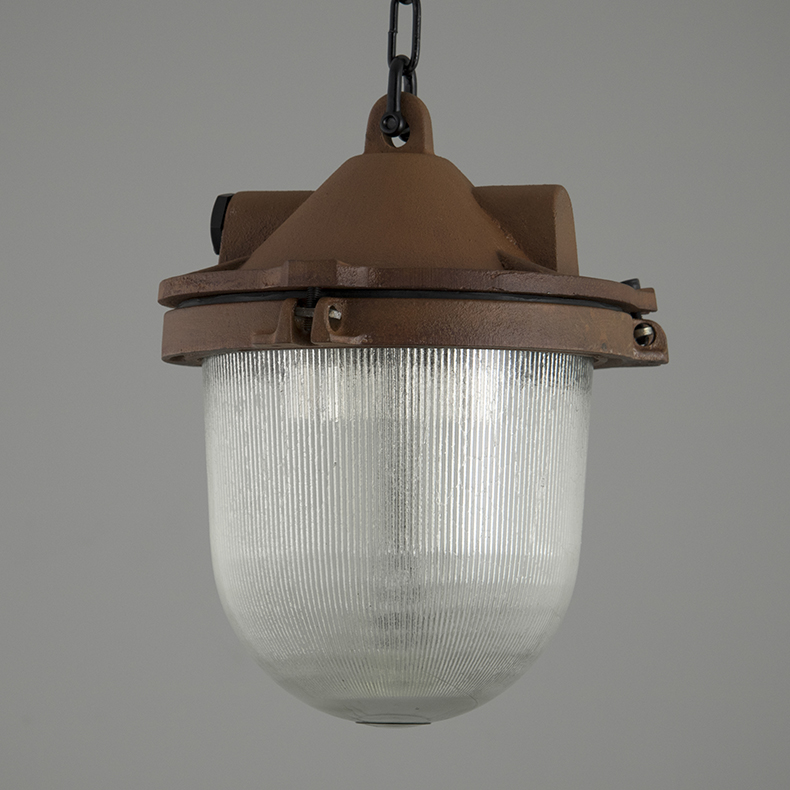 Oxidised Eastern Bloc pendant lights