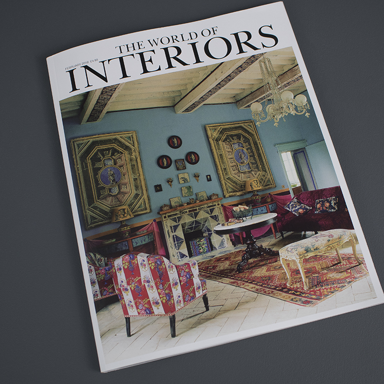 World of Interiors Feb 18 Cover