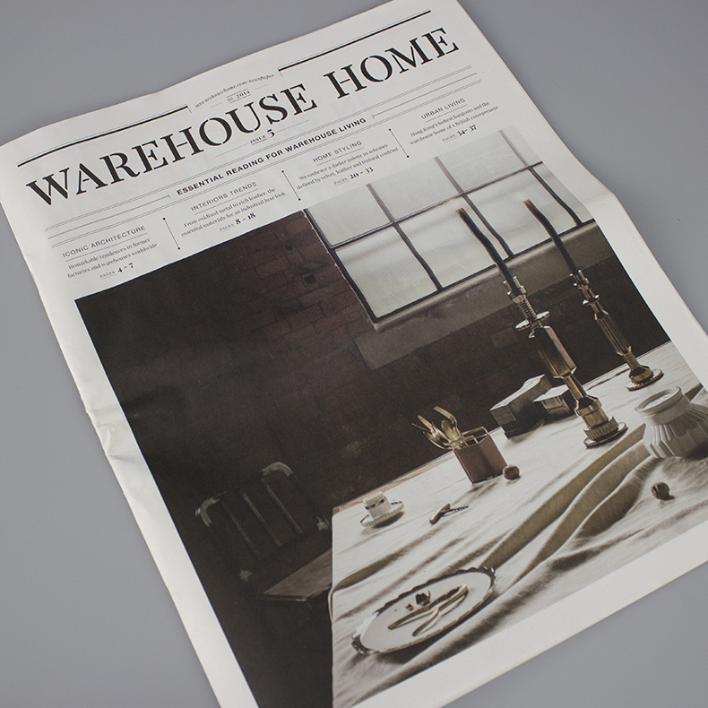 Warehouse Home cover Issue 5