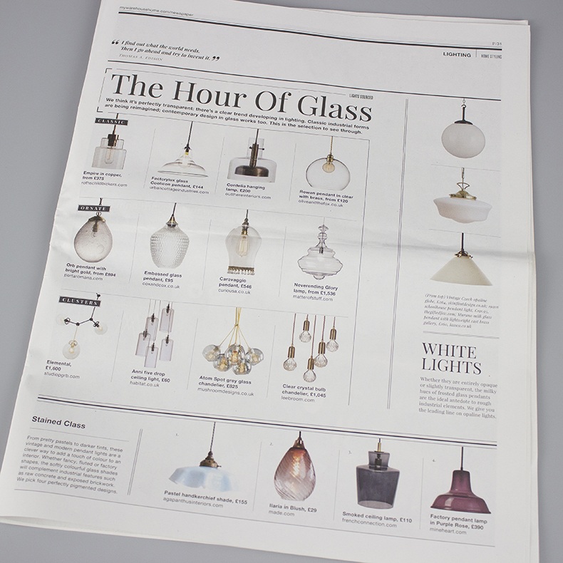 Warehouse home issue 5 the hour of glass