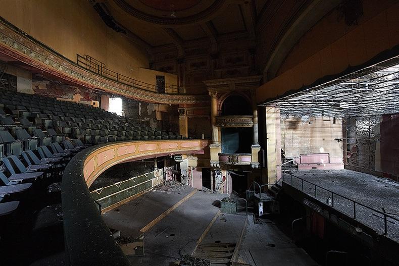 Darren Holden derelict theatre
