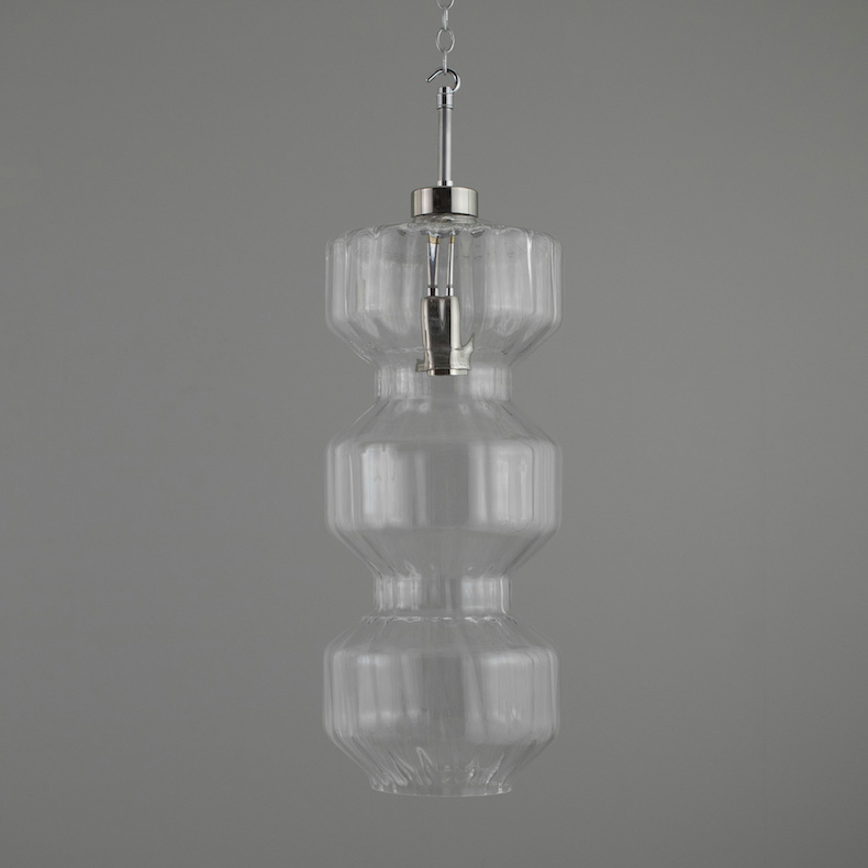 XL Retro Czech glass pendant lights
