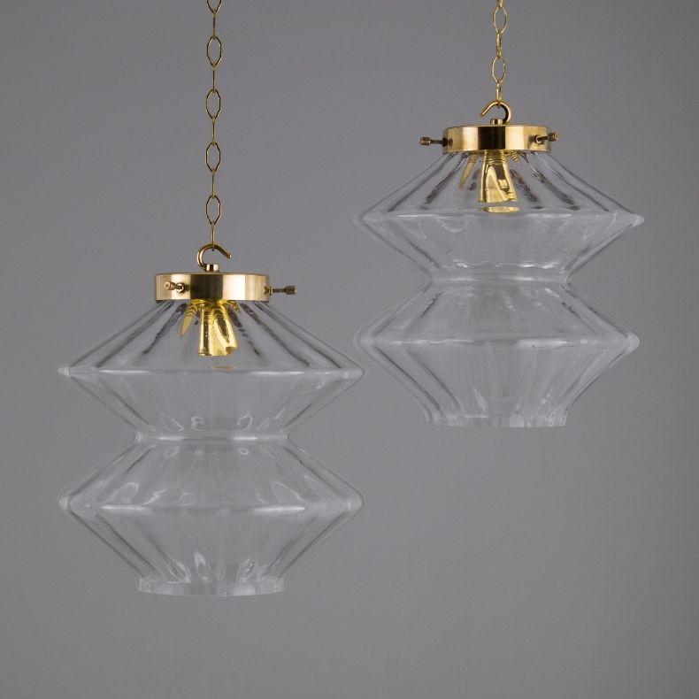 skinflint's vintage Czech hotel pendants featured in Remodelista