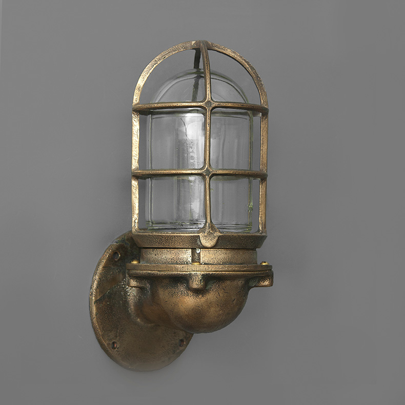 Vintage cargo ship light