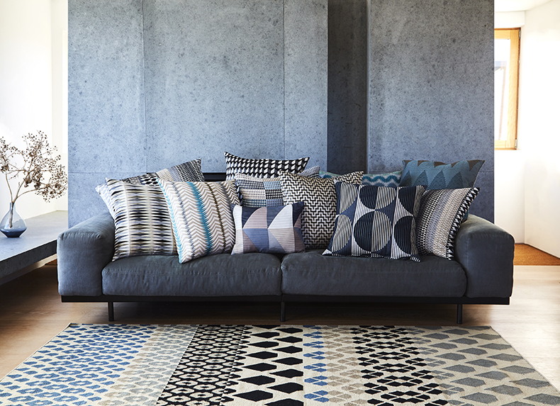 Margo Selby patterned cushions