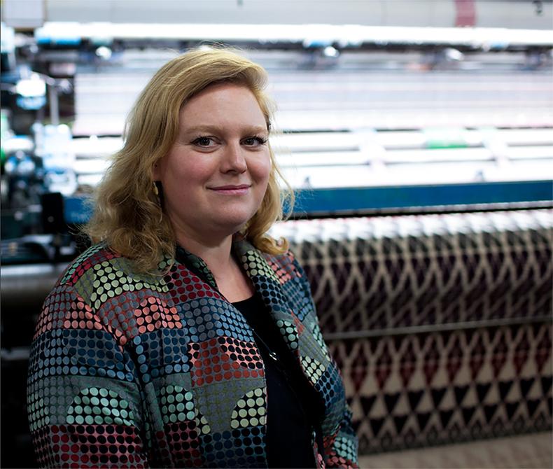 Textile designer Margo Selby