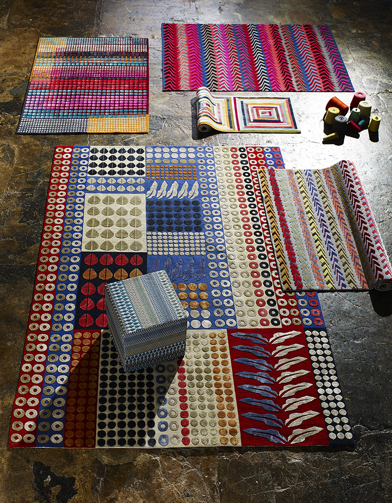 Margo Selby patterned rugs
