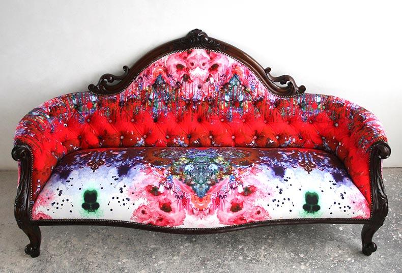 Timorous Beasties Blotch sofa